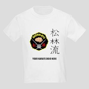 Personalized Shorin Ryu Patch & Kids Light T-Shirt