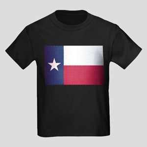 Texas State Doted Flag T-Shirt