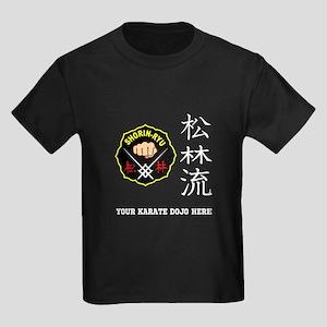 Personalized Shorin Ryu Patch & Kids Dark T-Shirt