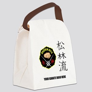 Personalized Shorin Ryu Patch & K Canvas Lunch Bag