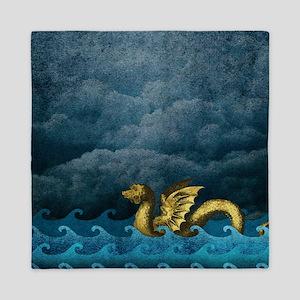 Sea Dragon Queen Duvet