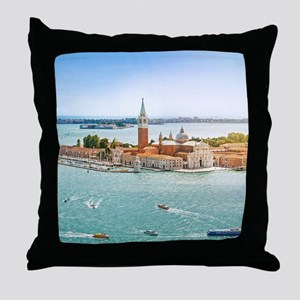 San Giorgio Maggiore Church Venice It Throw Pillow