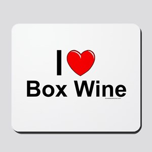 Box Wine Mousepad