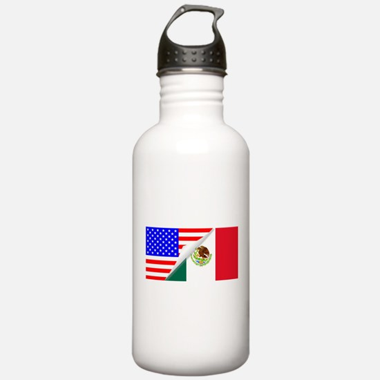 United States and Mexi Water Bottle