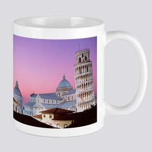 Leaning tower of pisa Italy Mugs