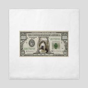 Pit Bull Money Queen Duvet