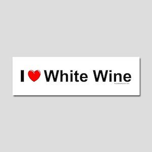 White Wine Car Magnet 10 x 3