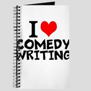 I Love Comedy Writing Journal