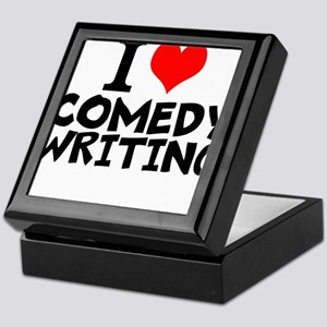 I Love Comedy Writing Keepsake Box