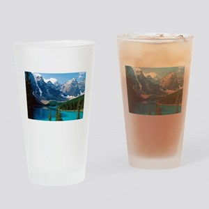 Moraine Lake Banff National Park Ca Drinking Glass