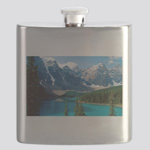 Moraine Lake Banff National Park Canada Flask