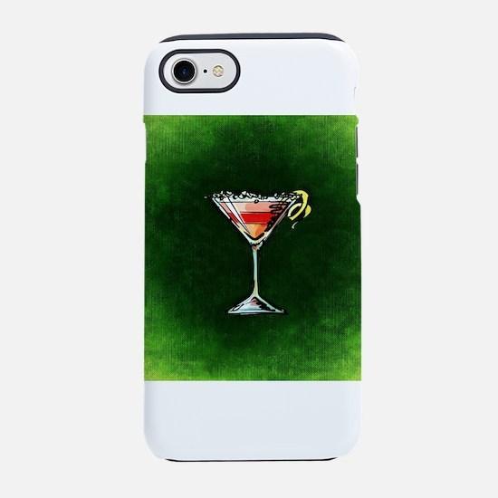 Cosmopolitan on Green iPhone 8/7 Tough Case