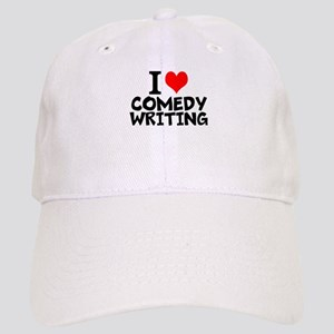 I Love Comedy Writing Baseball Cap