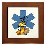 EMS Thanksgiving Framed Tile