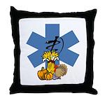 EMS Thanksgiving Throw Pillow