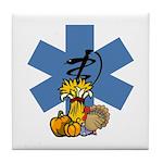 EMS Thanksgiving Tile Coaster