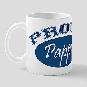 Proud Pappou (blue) Mug