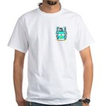 Waugh White T-Shirt