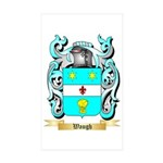 Waugh Sticker (Rectangle 50 pk)