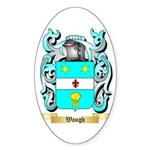 Waugh Sticker (Oval 50 pk)
