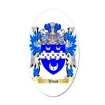 Waud Oval Car Magnet