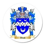 Waud Round Car Magnet