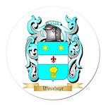 Wauchope Round Car Magnet