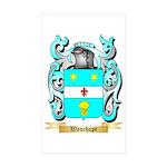Wauchope Sticker (Rectangle 50 pk)