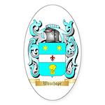 Wauchope Sticker (Oval 50 pk)