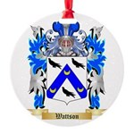 Wattson Round Ornament
