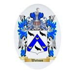Wattson Oval Ornament