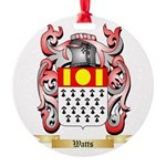 Watts Round Ornament