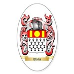 Watts Sticker (Oval)