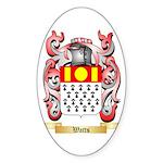 Watts Sticker (Oval 50 pk)