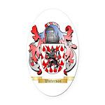 Watterson Oval Car Magnet