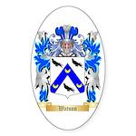 Watson Sticker (Oval 50 pk)