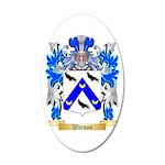 Watson 35x21 Oval Wall Decal