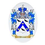 Watson Oval Ornament