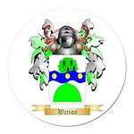 Watson (Scottish) Round Car Magnet