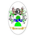 Watson (Scottish) Sticker (Oval)