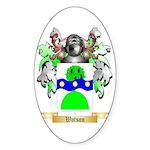 Watson (Scottish) Sticker (Oval 50 pk)