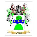 Watson (Scottish) Small Poster