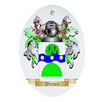 Watson (Scottish) Oval Ornament
