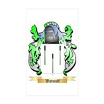Watmuff Sticker (Rectangle 10 pk)