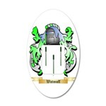 Watmuff 20x12 Oval Wall Decal