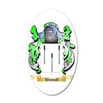 Watmuff 35x21 Oval Wall Decal