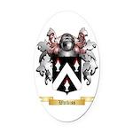 Watkiss Oval Car Magnet