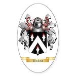 Watkiss Sticker (Oval 50 pk)
