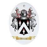 Watkiss Oval Ornament
