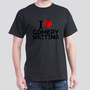 I Love Comedy Writing T-Shirt